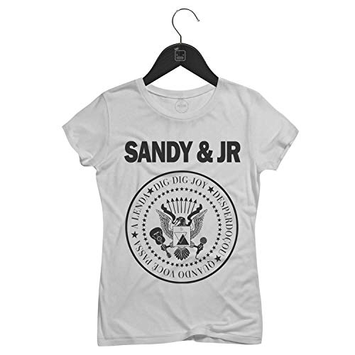 Camiseta Feminina Sandy & Jr   Branca - P