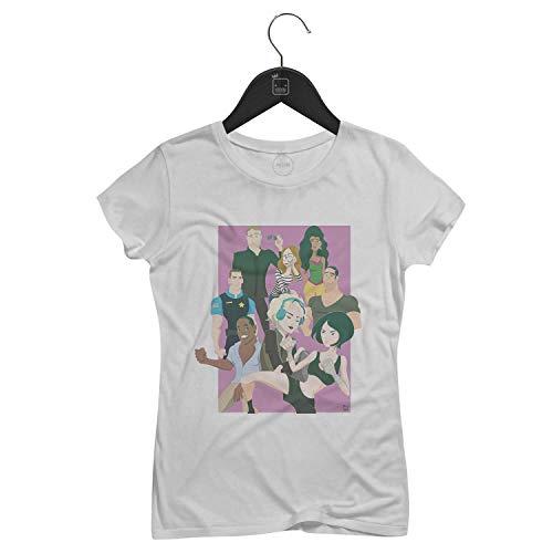Camiseta Feminina Sense8 Netflix   Branca - P