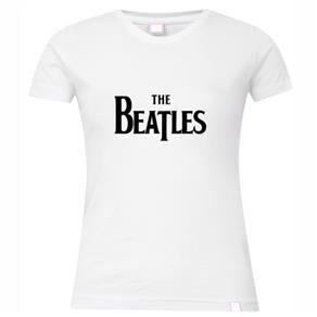 Camiseta Feminina: The Beatlescores Opcionais - P- Branca