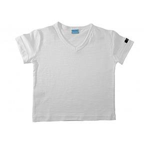 Camiseta Flamê V Manga Curta - 3 - Branco