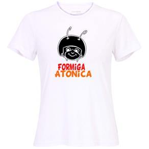 Camiseta Formiga Atômica – Feminina. - P - Branca