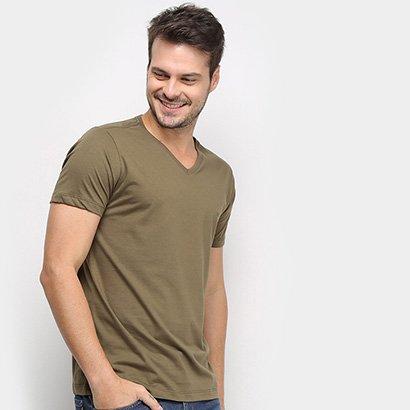 Camiseta Forum Gola V Masculina