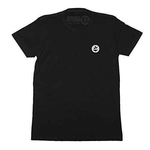 Camiseta Gola C Básica - M PRETO