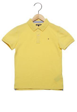 Camiseta Gola Polo Amarela - Tommy Hilfiger