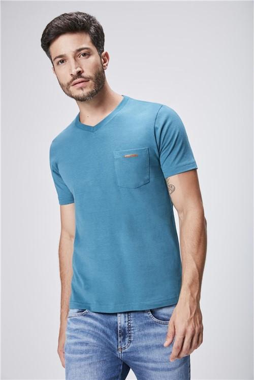 Camiseta Gola V Básica Masculina