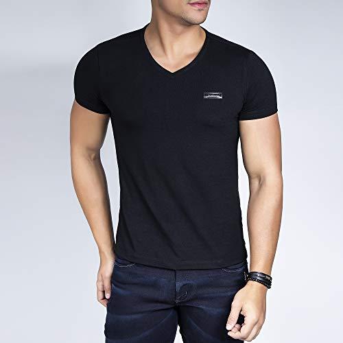 Camiseta Gola V-m
