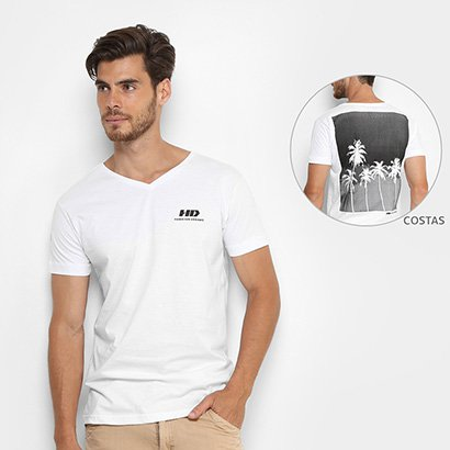 Camiseta HD Gv Estampada Masculina