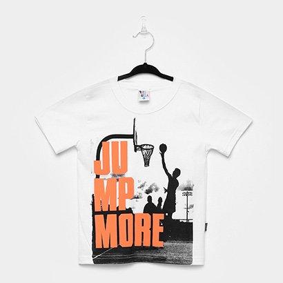 Tudo sobre 'Camiseta Infantil Pulla Bulla Basquete Masculina'