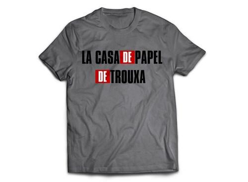 Camiseta La Casa de Papel de Trouxa (P)