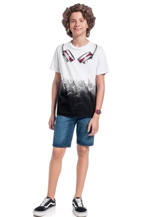 Camiseta Lemon Manga Curta Branco
