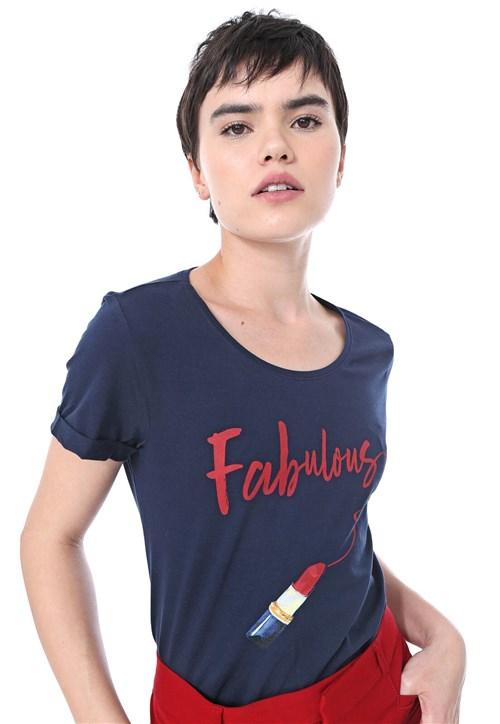 Camiseta Malwee Fabulous Azul-Marinho