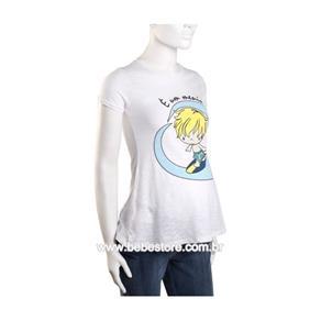 Camiseta Manga Curta - Branco - G