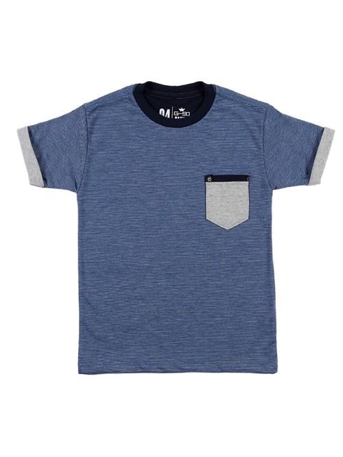 Camiseta Manga Curta G-91 Azul