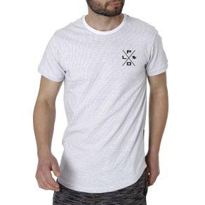 Camiseta Manga Curta Masculina Branco GG