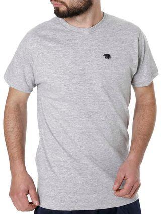 Tudo sobre 'Camiseta Manga Curta Masculina Cinza'