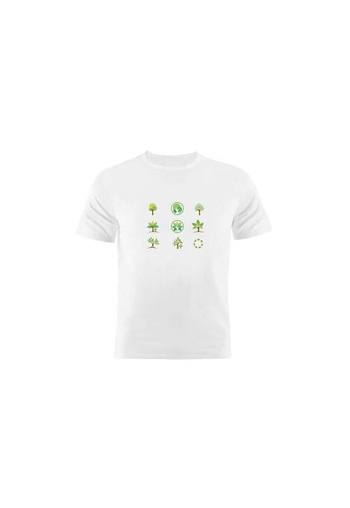 Camiseta Manga Curta Nerderia Eco Branco