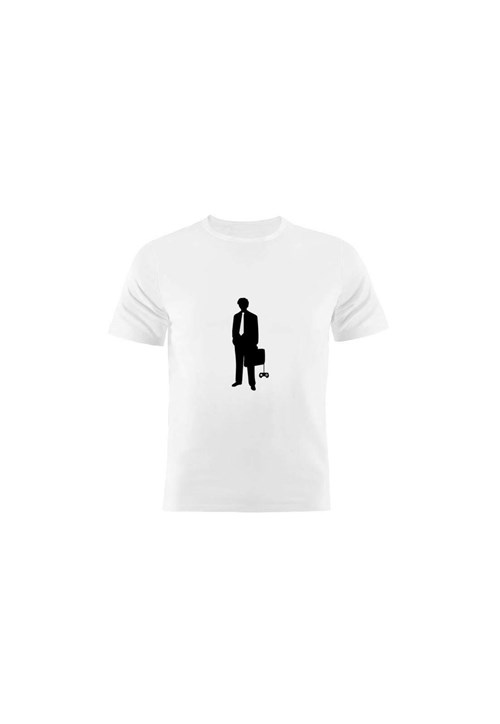 Camiseta Manga Curta Nerderia Gamer Branco