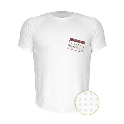 Camiseta Manga Curta Nerderia Hello Branco