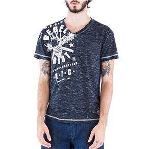 Camiseta Masculina 16571 Ecko - Tamanho G - Preto