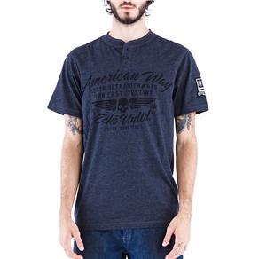 Camiseta Masculina 16672 Ecko - Tamanho M - Preto