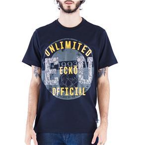 Camiseta Masculina 17903 Ecko - Tamanho M - Preto