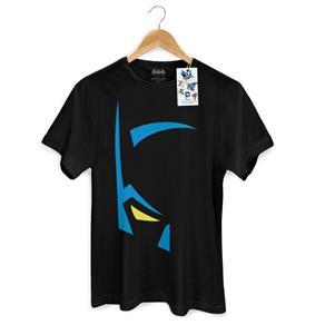 Camiseta Masculina Batman Mask - PRETO - G
