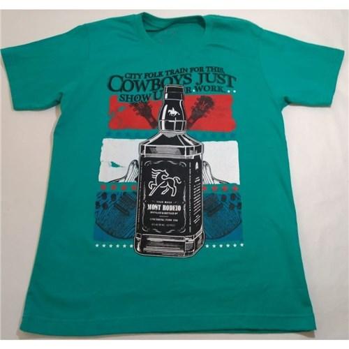 Camiseta Masculina com Estampa (P)