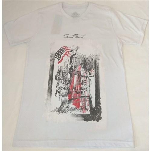 Camiseta Masculina com Estampa (PP)