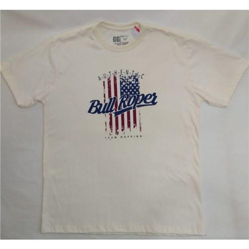 Camiseta Masculina com Estampada (GG)