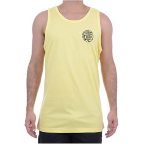 Camiseta Masculina HD Regata Básica - AMARELO - M