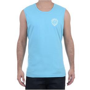 Camiseta Masculina HD Regata Machão - AZUL ROYAL - P