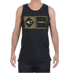 Camiseta Masculina O`neill Regata Básica - PRETO - G