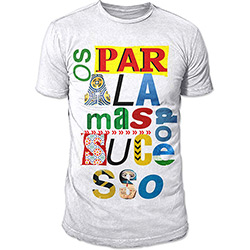 Camiseta Masculina os Paralamas do Sucesso - Type