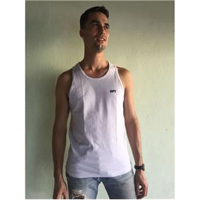 Camiseta Masculina Regata - 303 - BRANCO - G