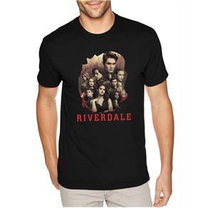 Camiseta Masculina Riverdale ER_118 - PRETO - M