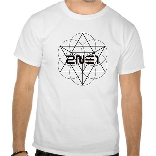 Camiseta 2N1 Branca Manga Curta (PP)