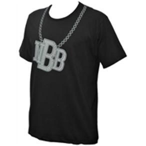 Camiseta NBB Colar Bling Bling - G - Preto
