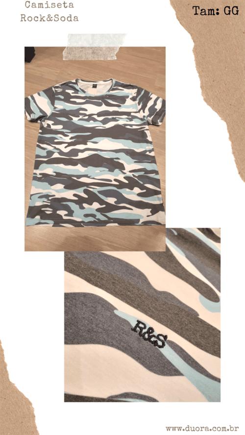 Camiseta R&s Mc (Estampado, GG)
