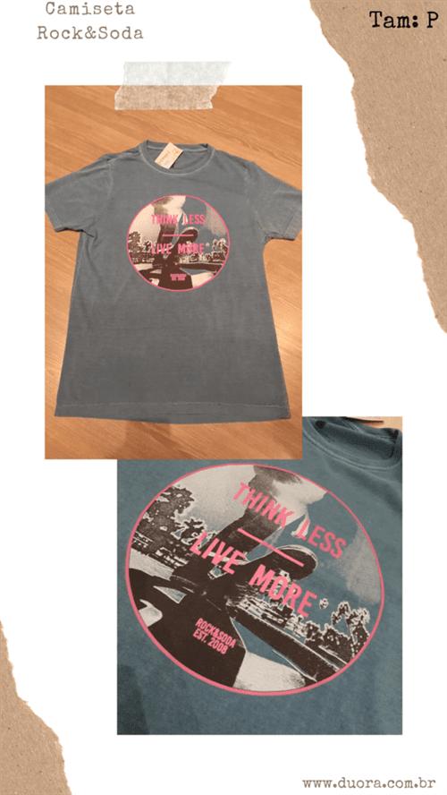 Camiseta R&s Mc (Royal, P)