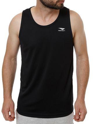 Camiseta Regata Esportiva Masculina Penalty Preto