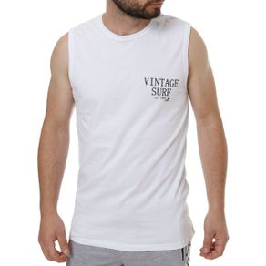 Camiseta Regata Masculina Branco G
