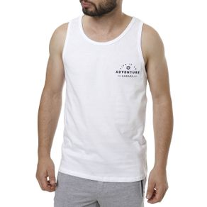 Camiseta Regata Masculina Branco M