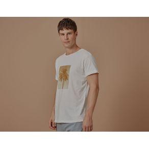 T-Shirt Single Palm Natural - P