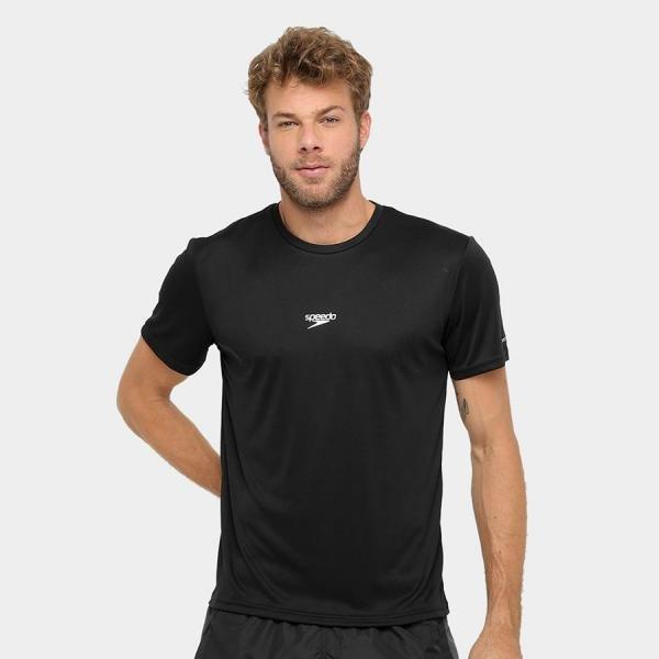 Tudo sobre 'Camiseta Speedo Interlock Preto Tam. G'