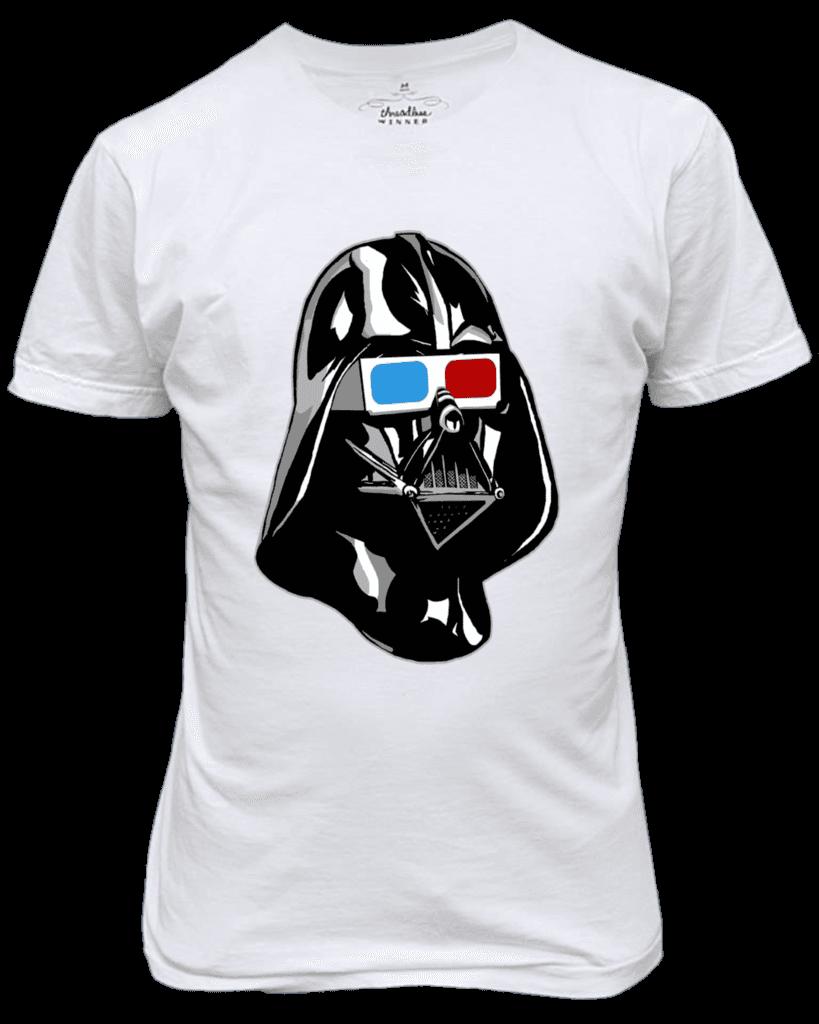 Camiseta Star Wars Darth Vader 3D (P)