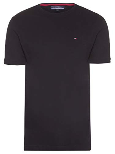 Camiseta Tommy Hilfiger Basica (preto, G)