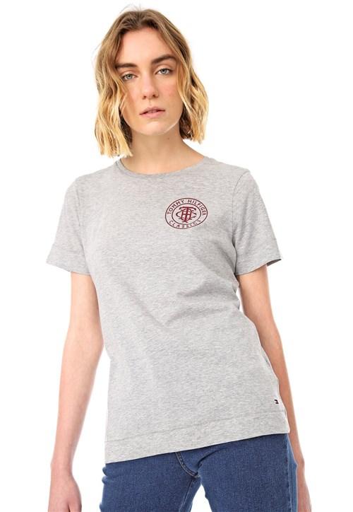 Camiseta Tommy Hilfiger Kelsey Cinza
