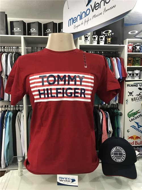 Tudo sobre 'Camiseta Tommy Hilfiger Listra (G)'