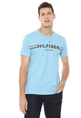Camiseta Tommy Hilfiger New York (azul, Gggg)