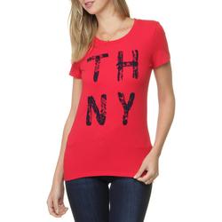 Camiseta Tommy Hilfiger Thny Flock